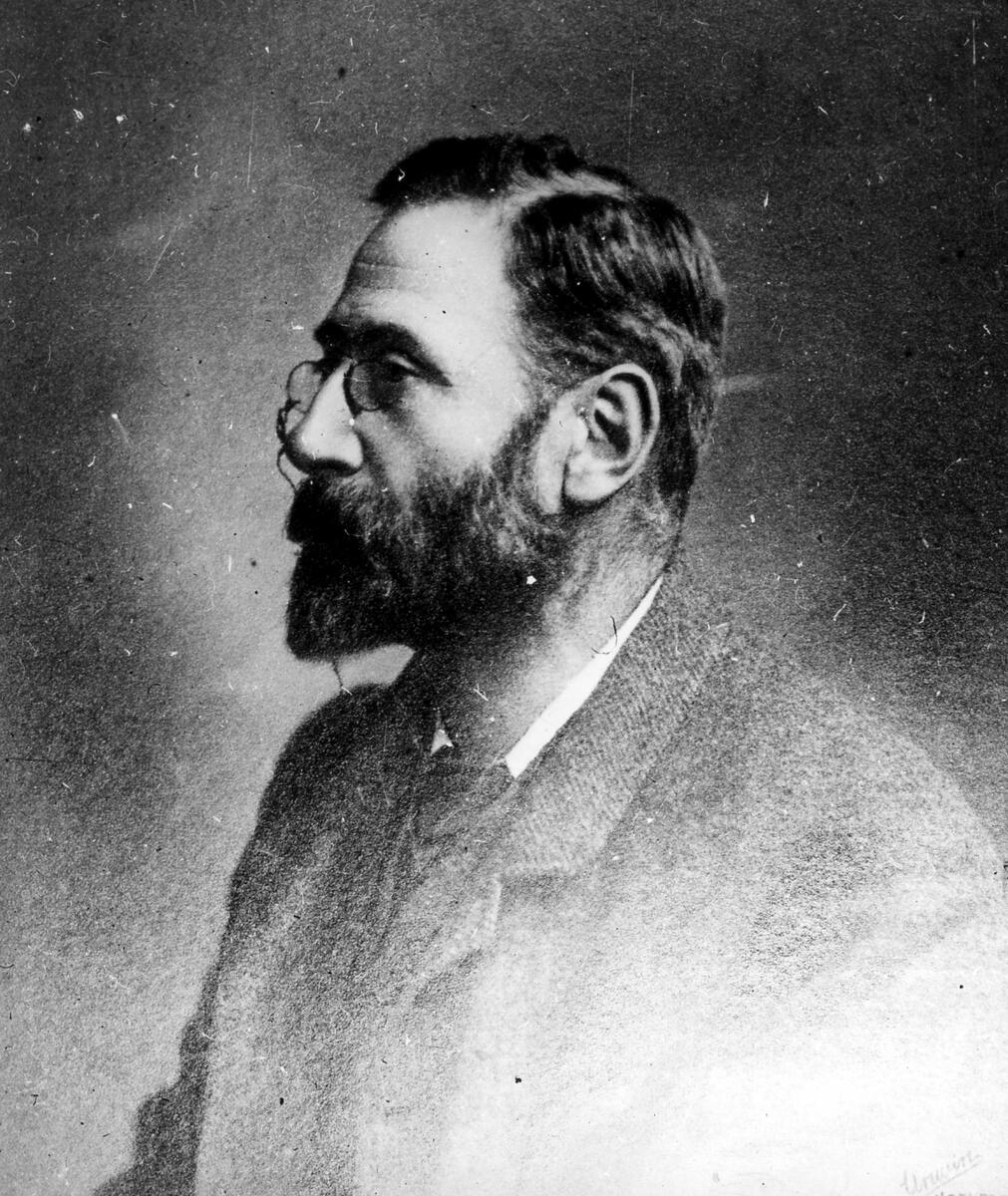 Black and White Portrait of Alfred Watkins