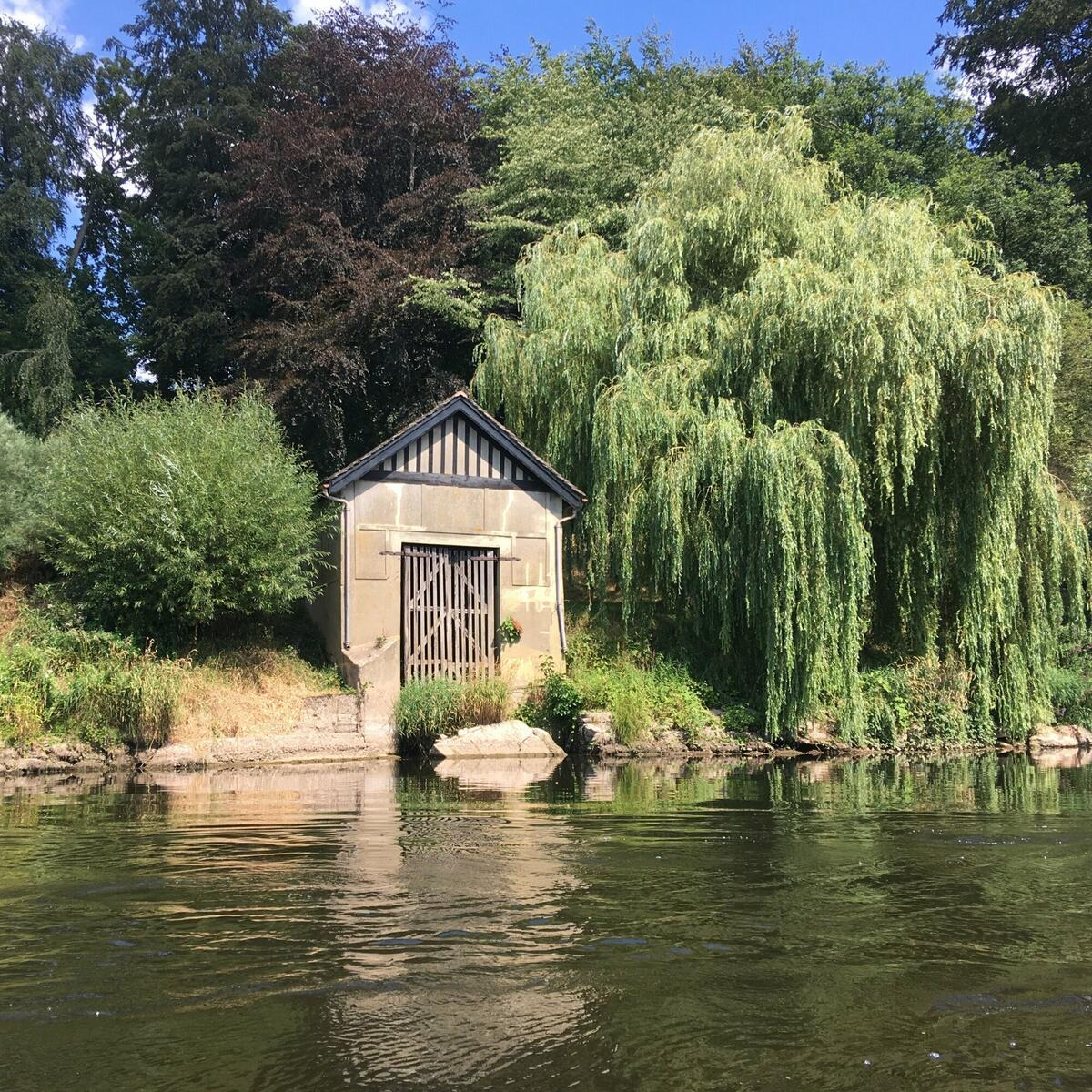 The 1920s boathouse