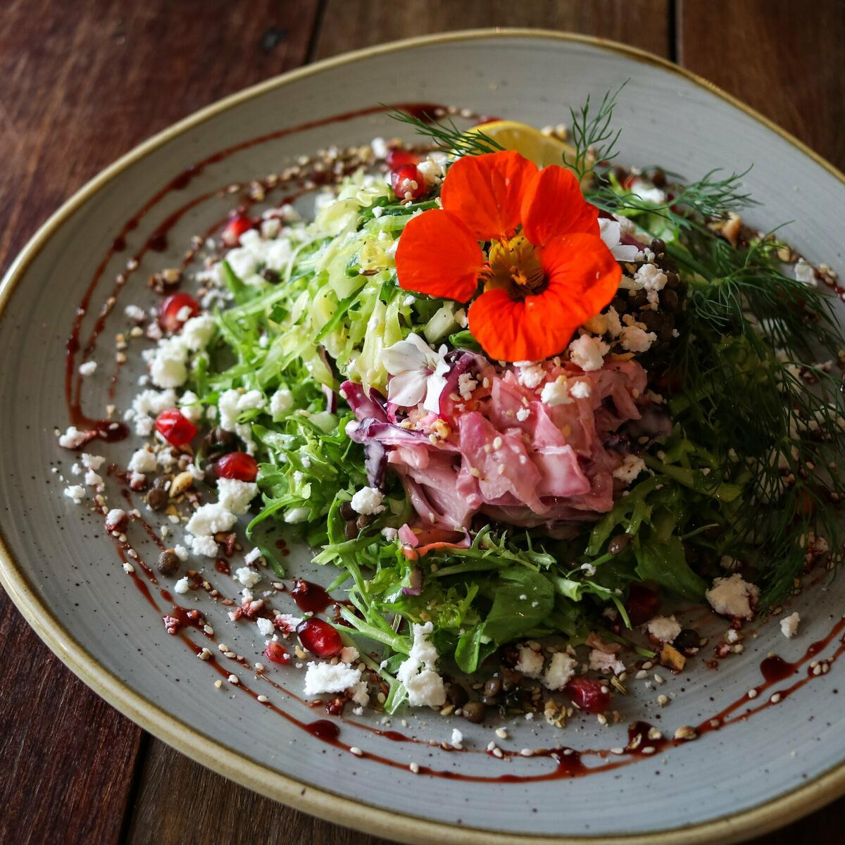 Salads, perfect for lunch.