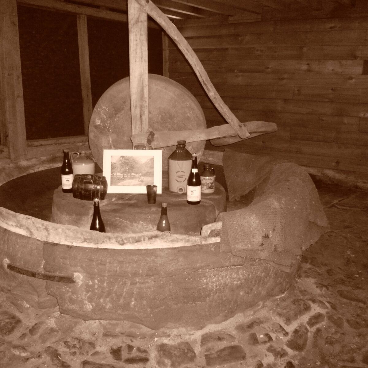 The original cider mill at our Farm