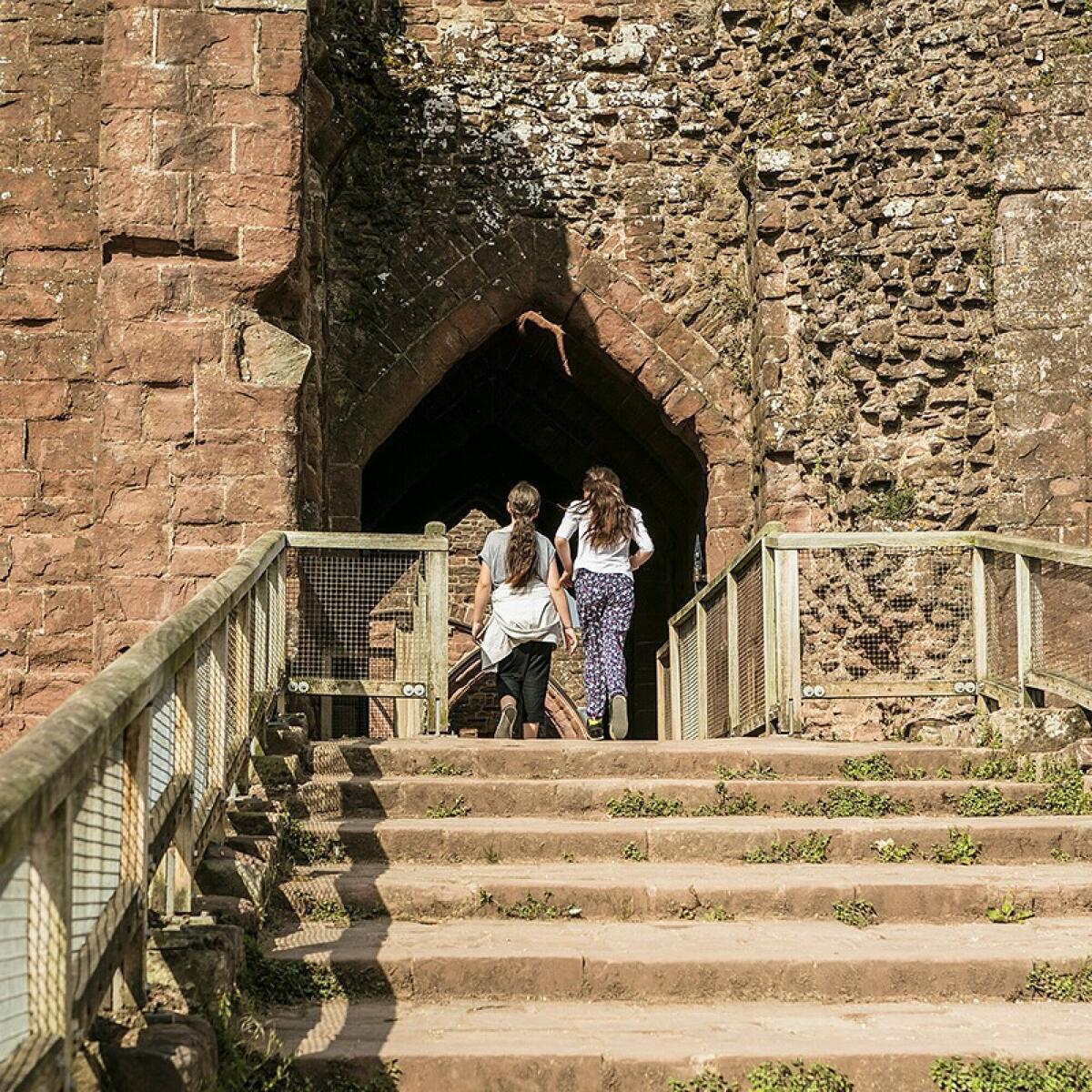 Goodrich Castle © English Heritage