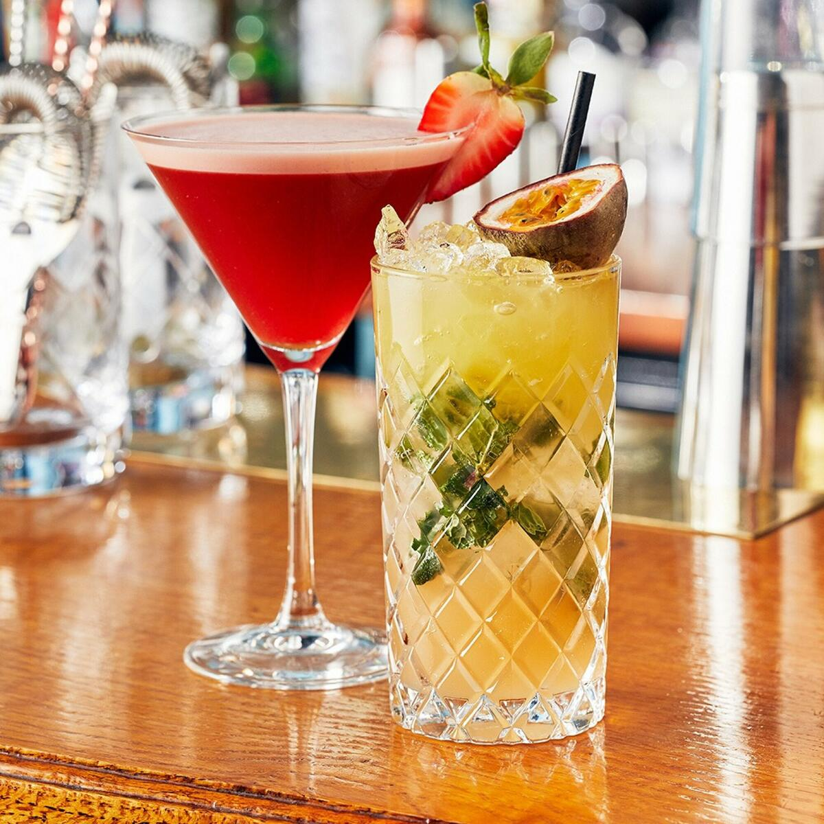 Enjoy exceptionally crafted cocktails