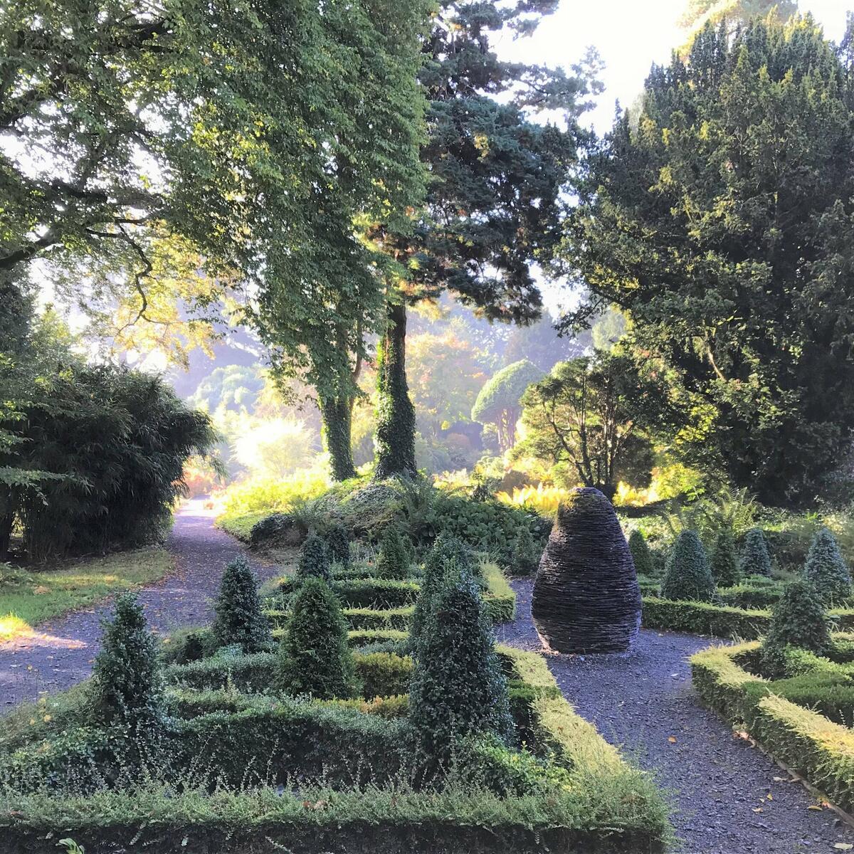 Green geometry in the Slate Garden
