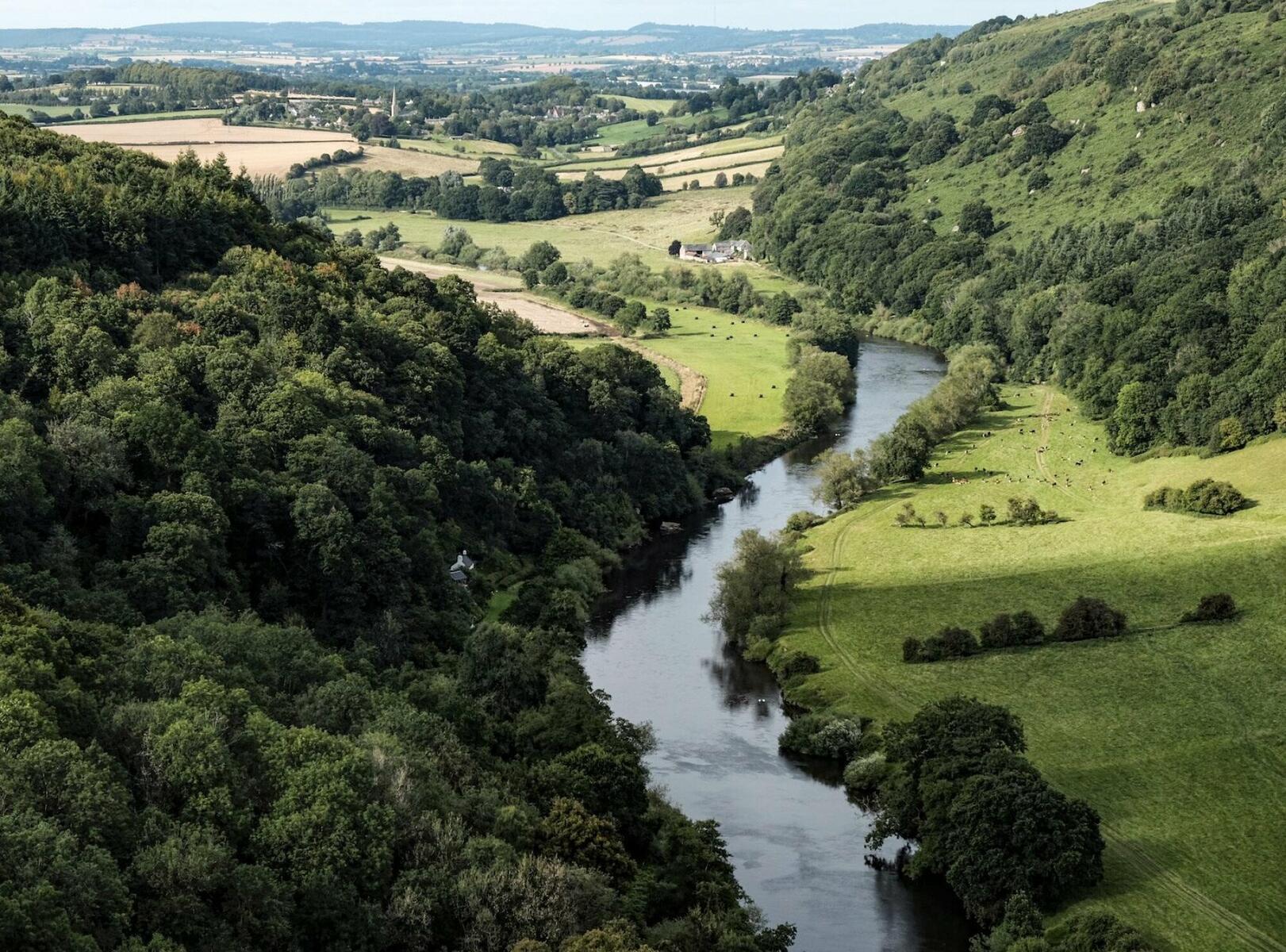Enjoy the spectacular Wye Valley