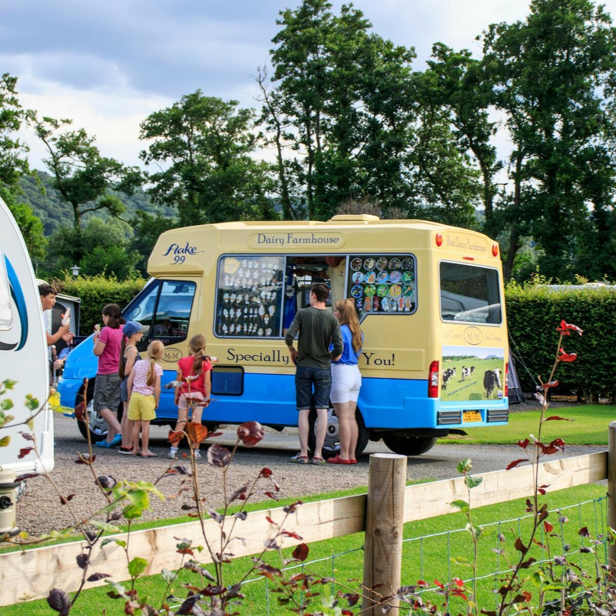 The Ice Cream Van calls