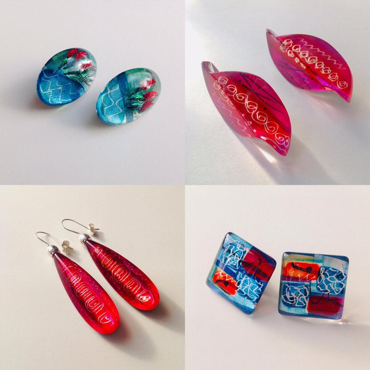 Range of Acrylic Jewellery