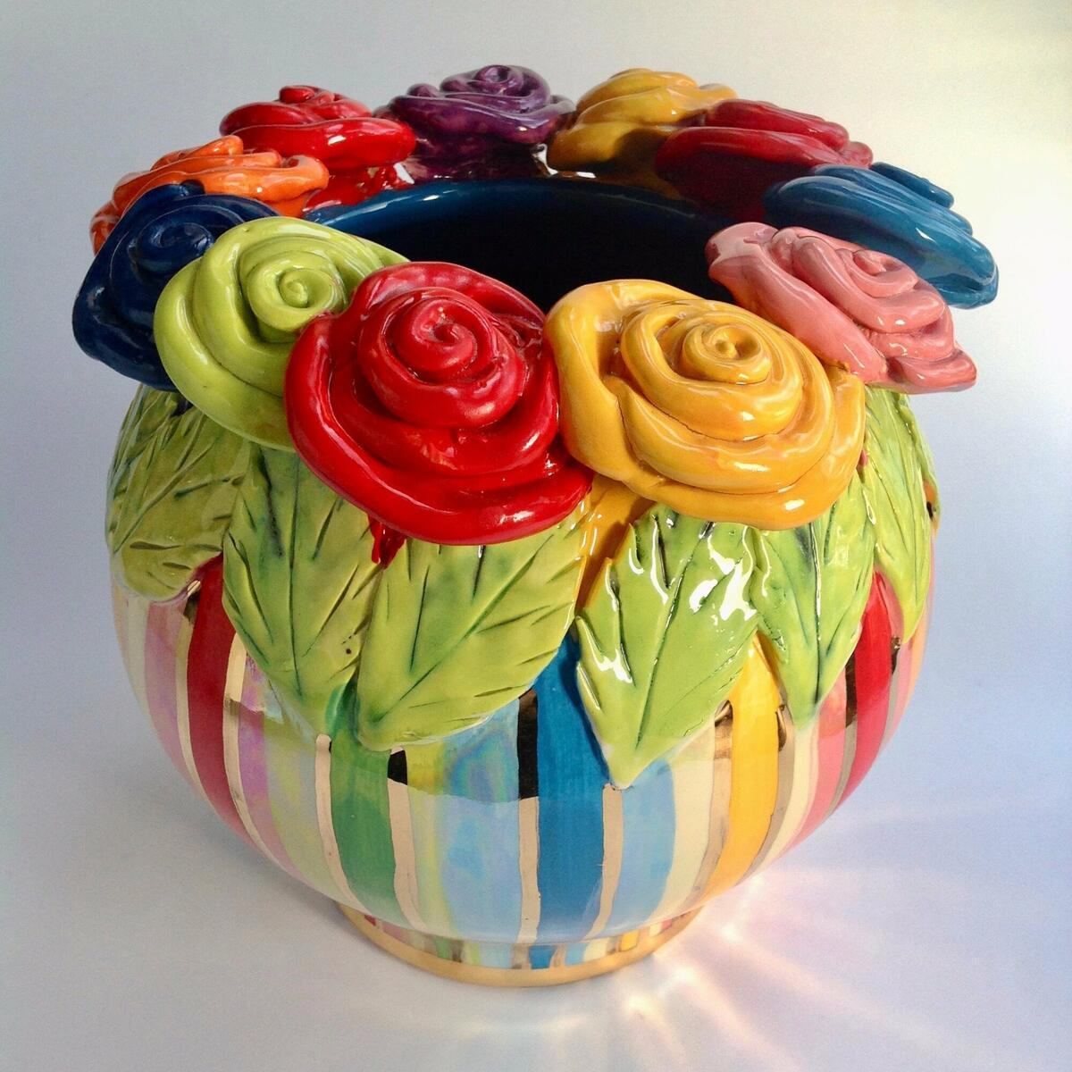 Colourful Ceramics by Mary Rose Young