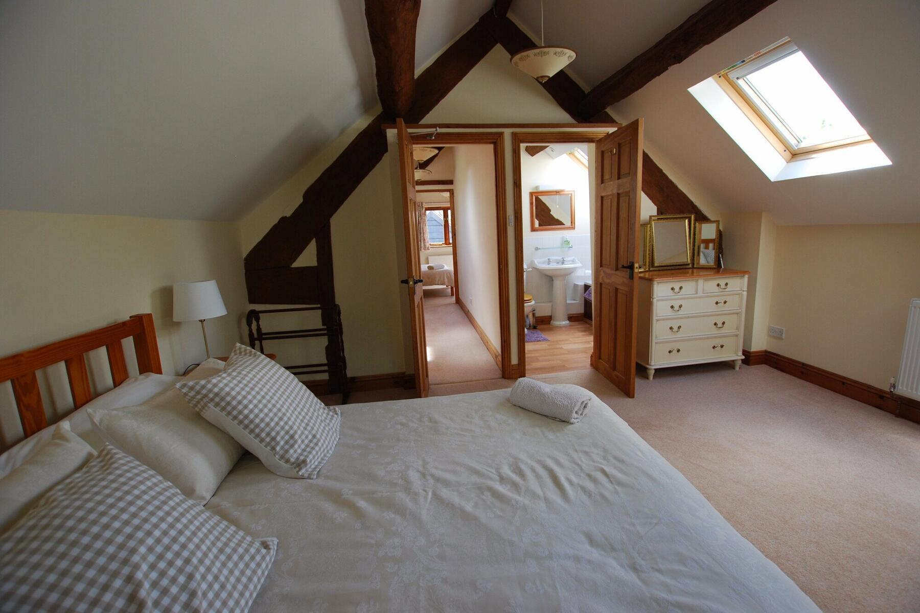 Byre, master bedroom