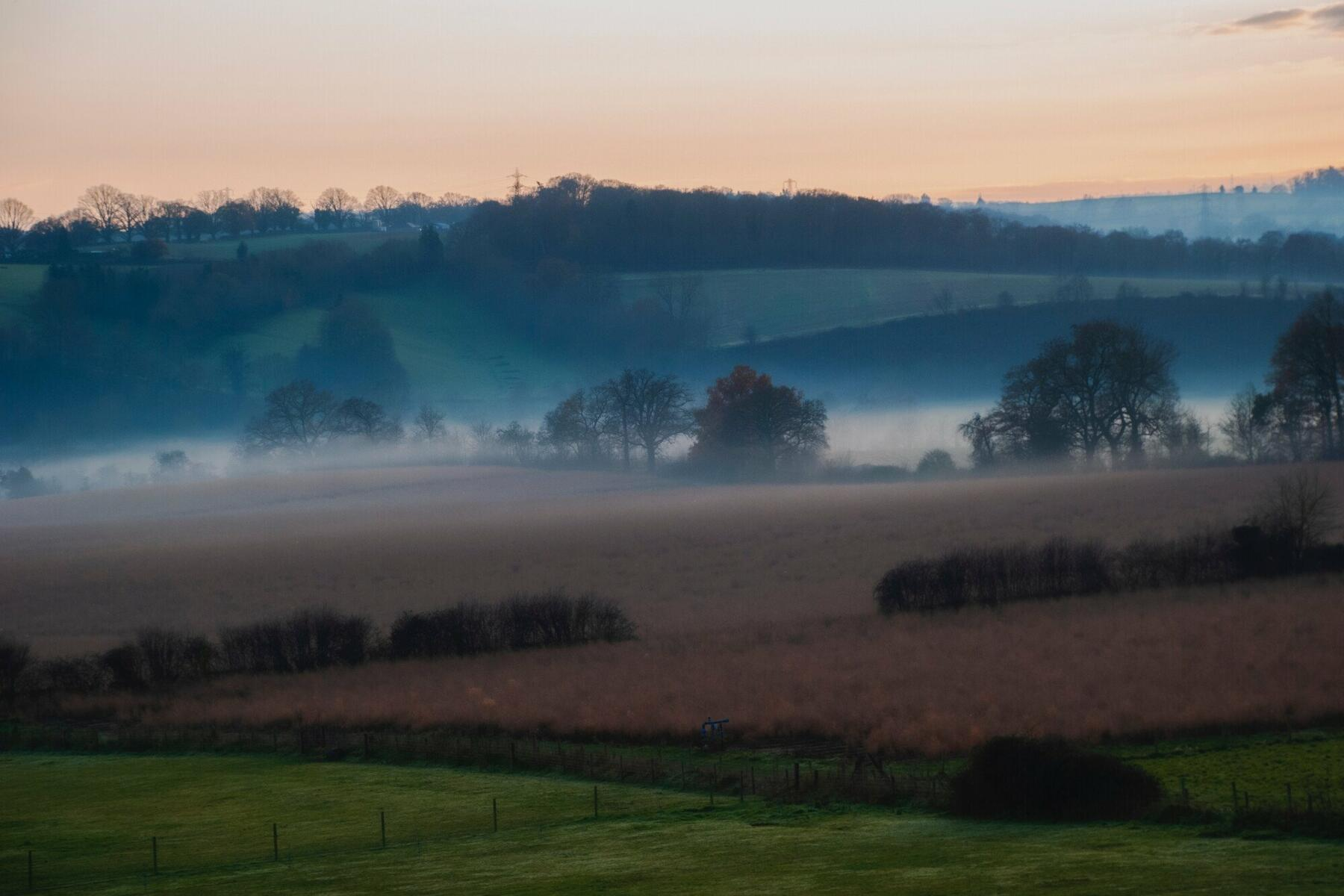 Mist over the Wye