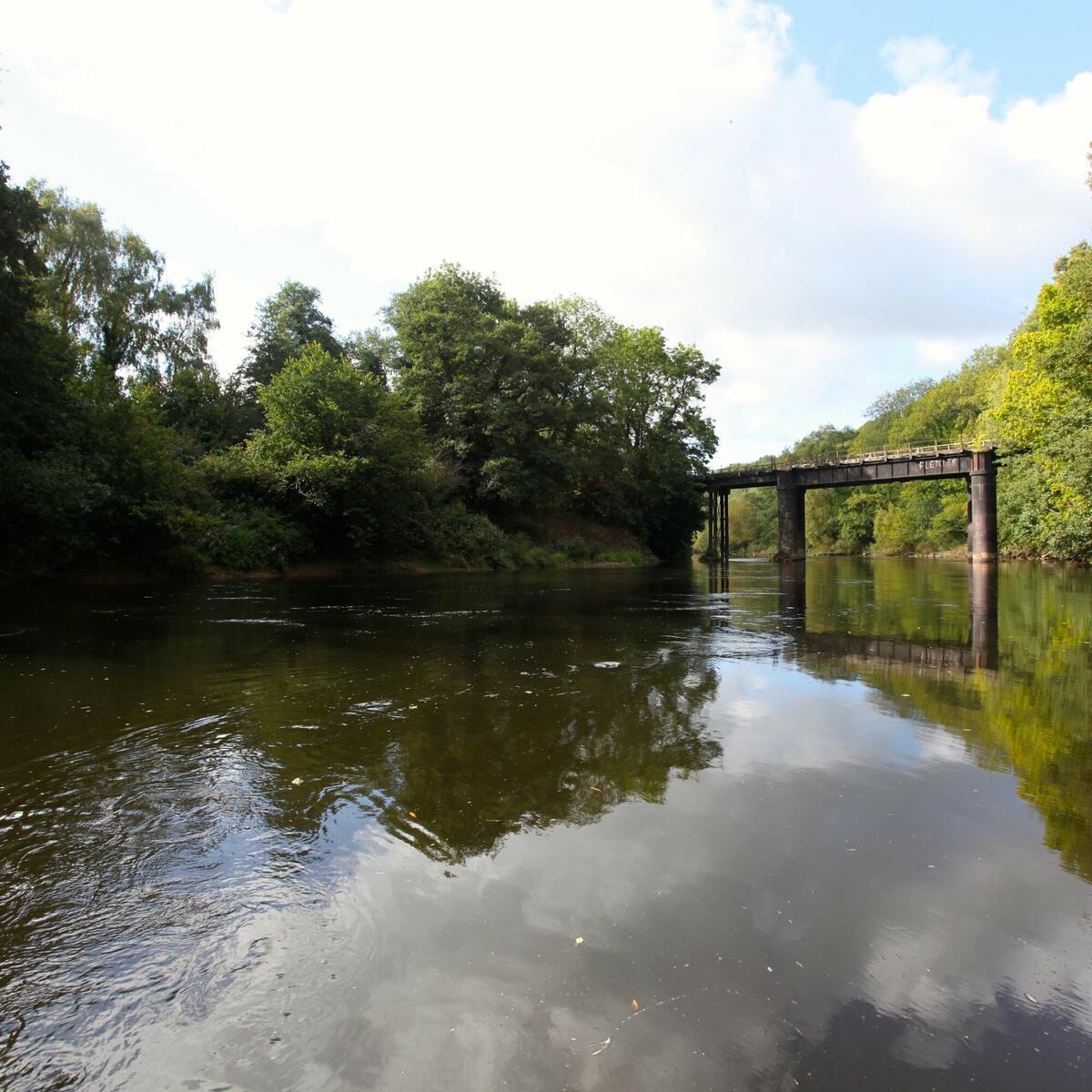 Canoe the Wye Stowfield Viaduct