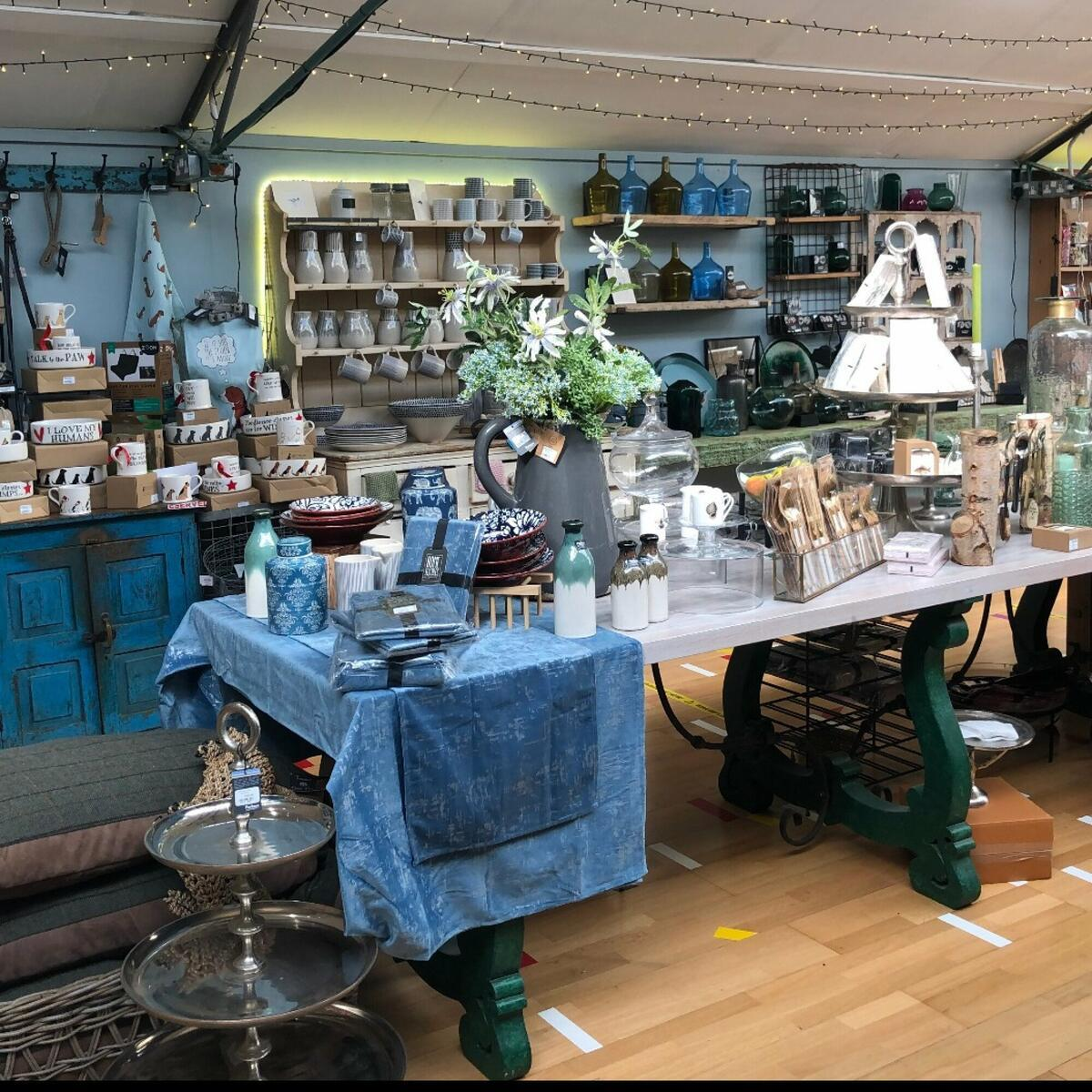 Homeware and gifts.