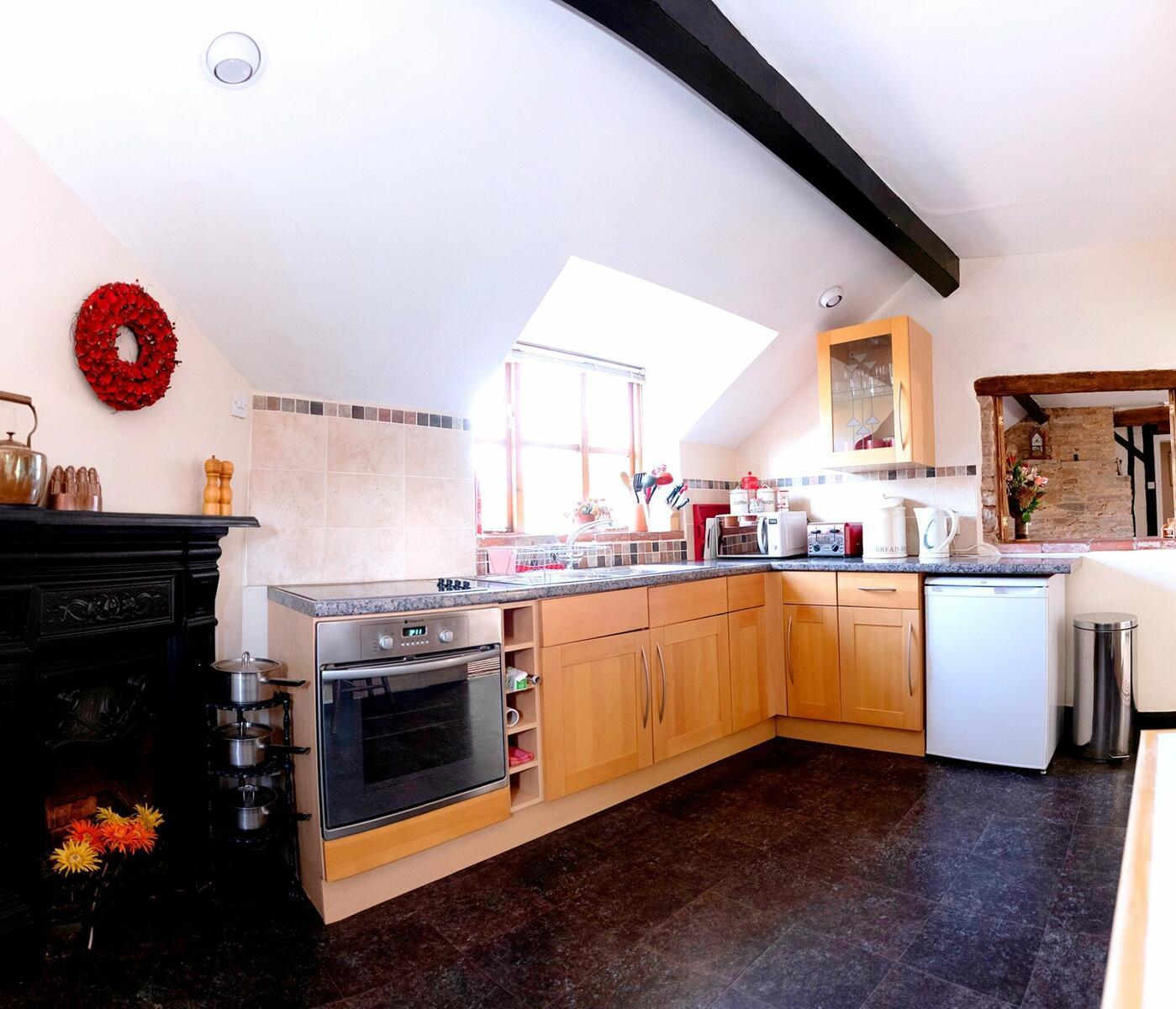 Holly Lodge kitchen/diner.