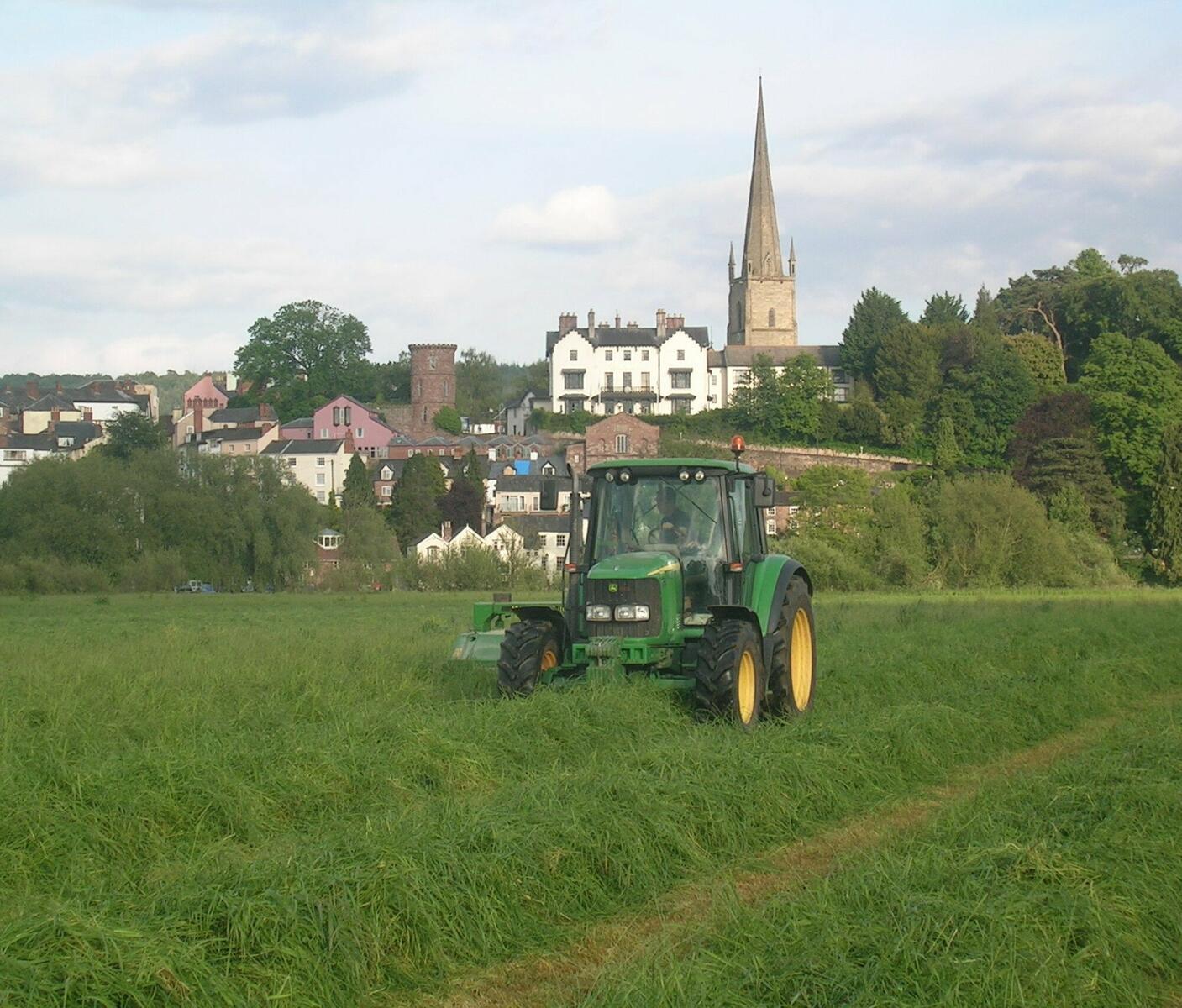 Oak Meadow with Ross on Wye