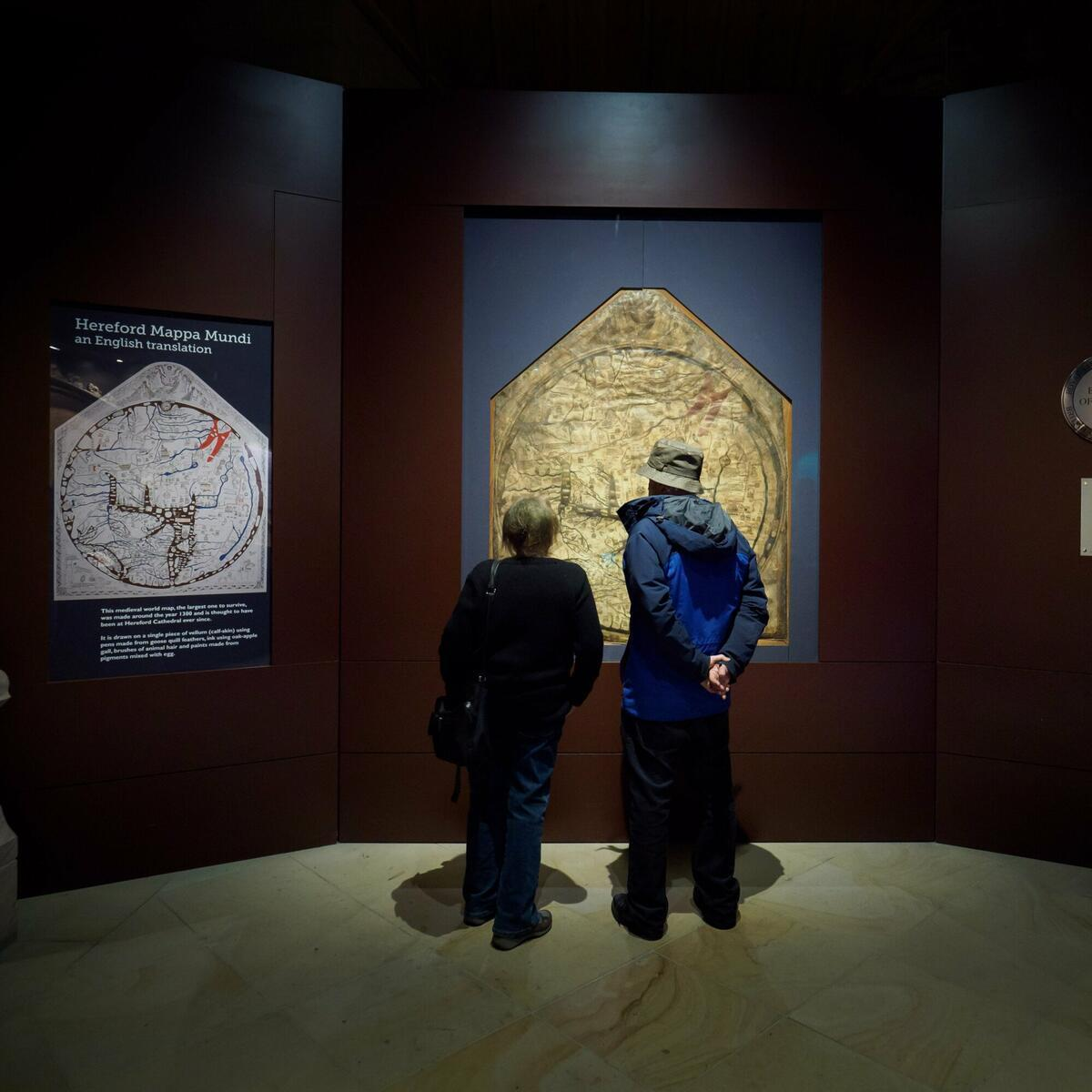 Visiting the Mappa Mundi by Ash Mills Photography