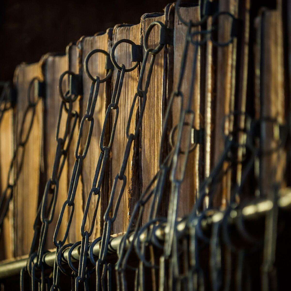 Chained Library by Ash Mills Photography