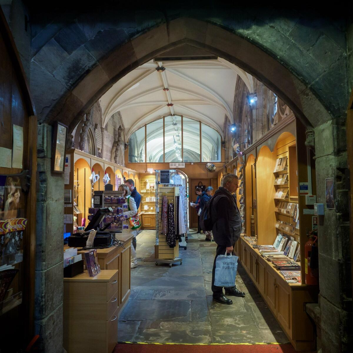 Hereford Cathedral Shop by Ash Mills Photography