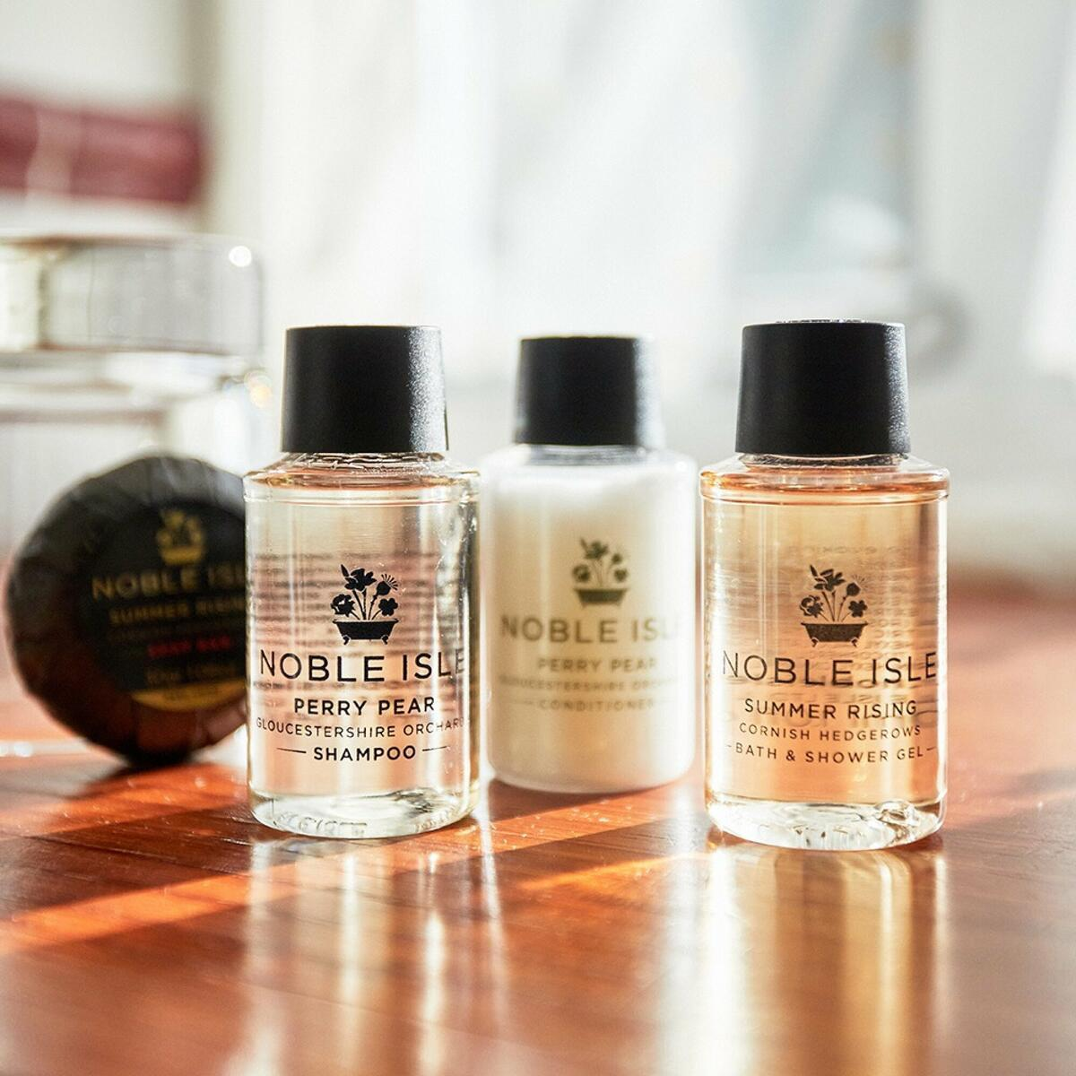 Noble Isle toiletries in all our roo