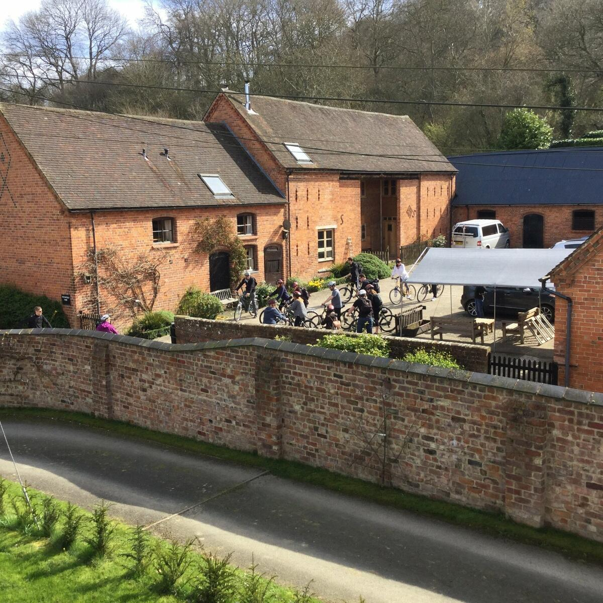 Starting your cycle hire at Wheely Wonderful's base at Petchfield Farm