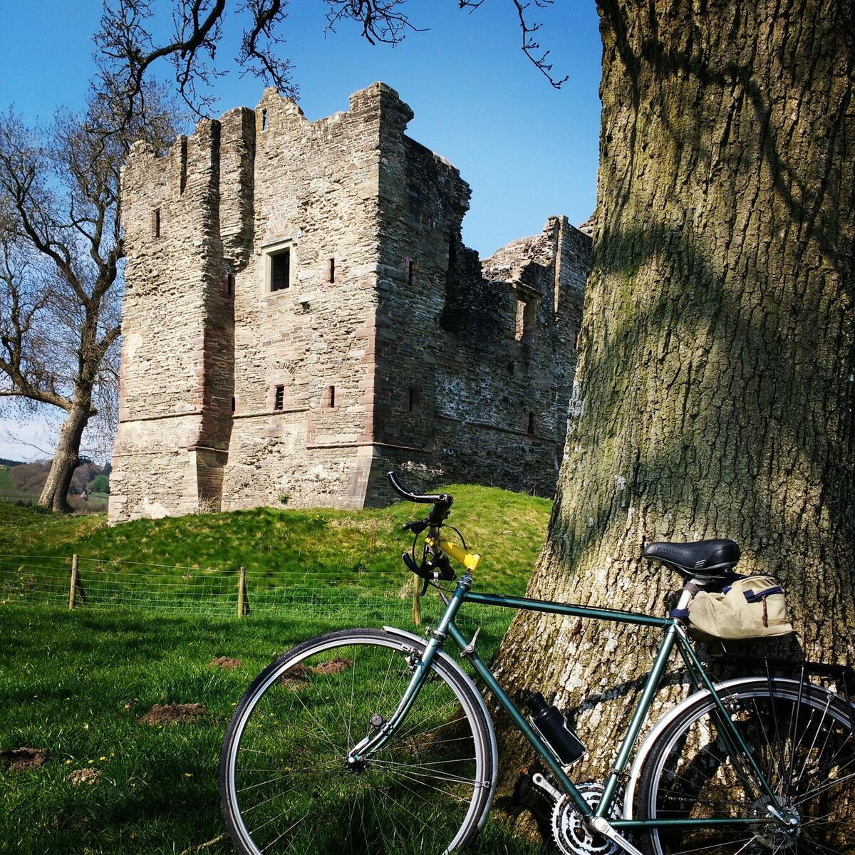 Cycle to Hopton Castle
