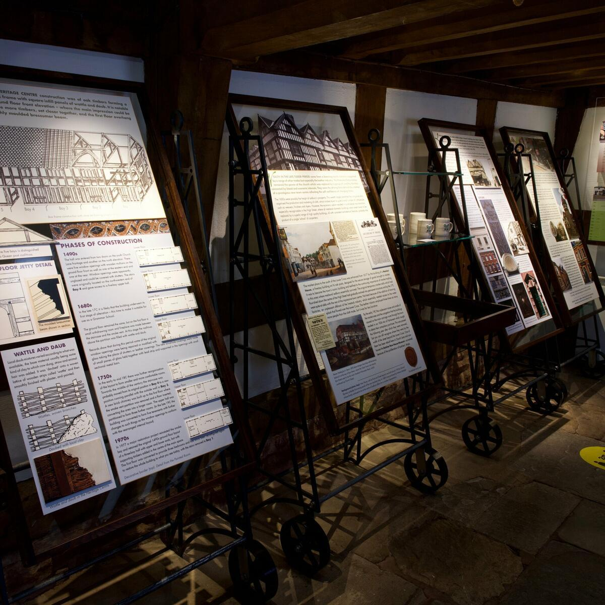 New displays at the Heritage Centre