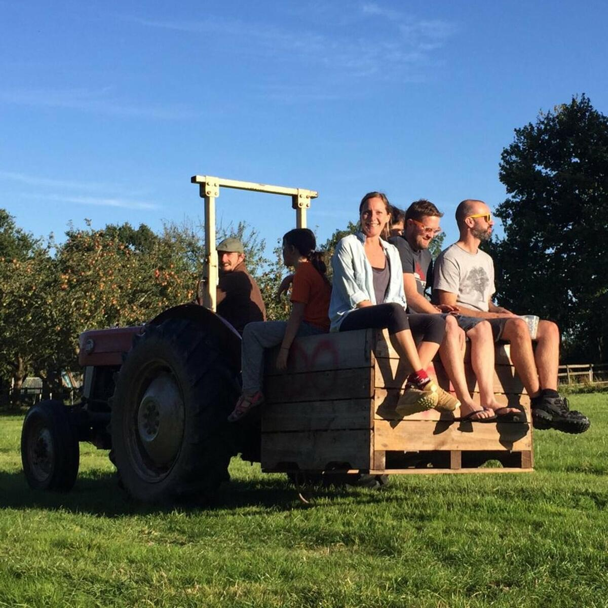 Tractor Taxi!