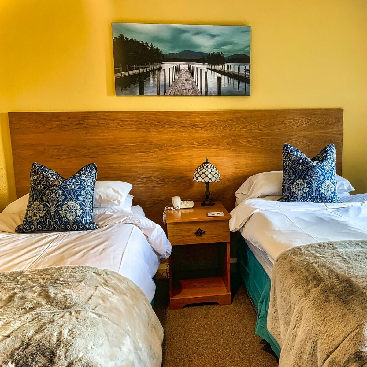 Room 7 Twin Bedded with Valley View