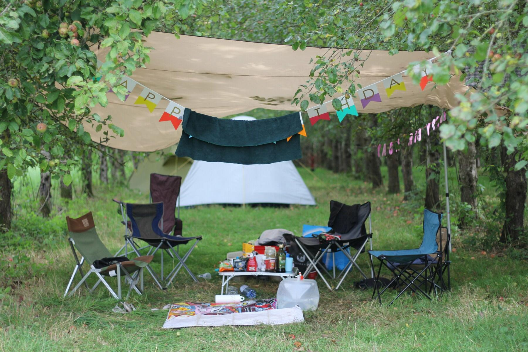 Make the orchards your own for a weekend!