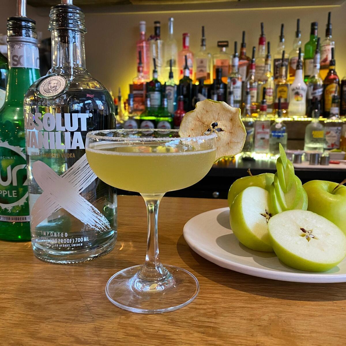 Herefordshire apple strudel cocktail