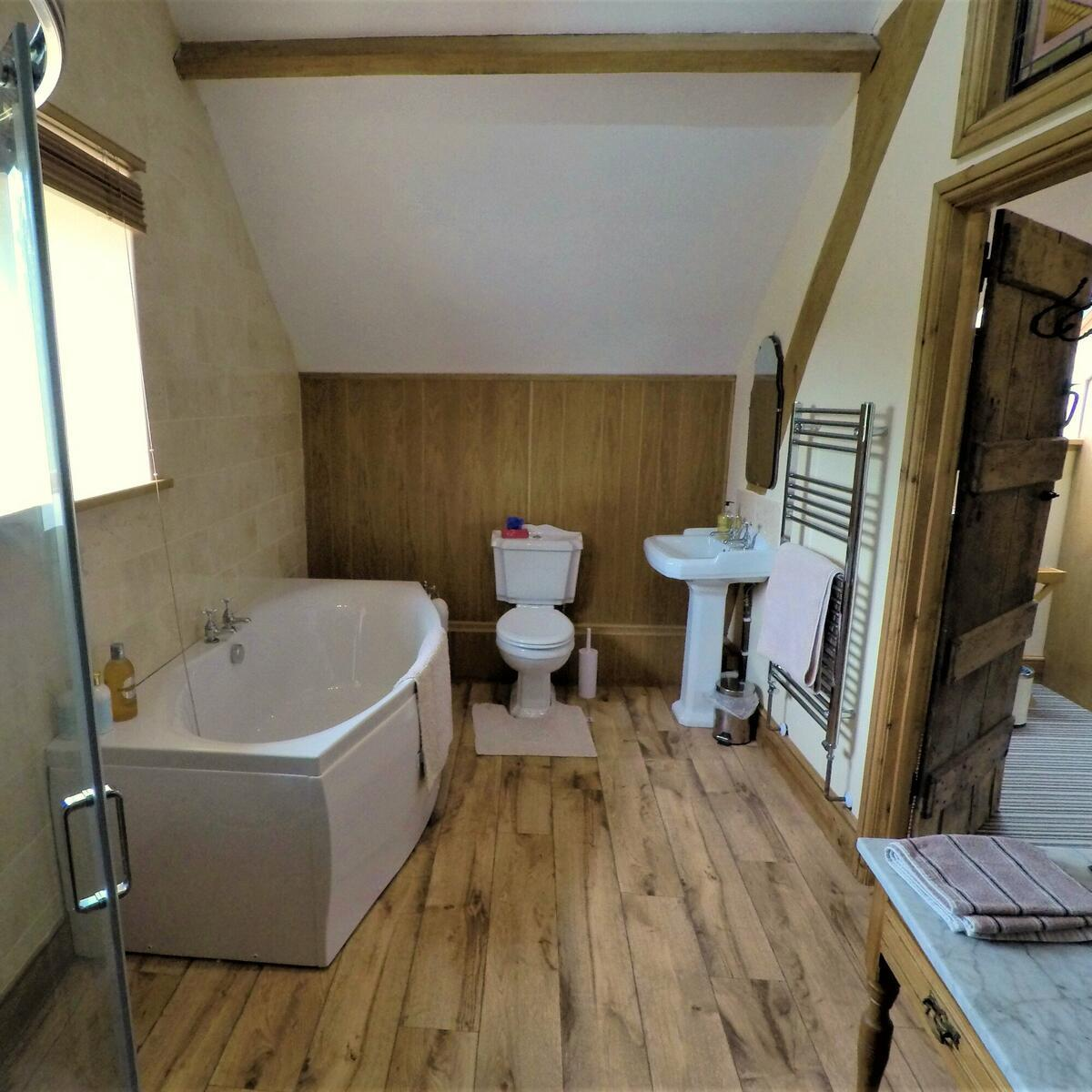 Newly renovated ensuite facilities