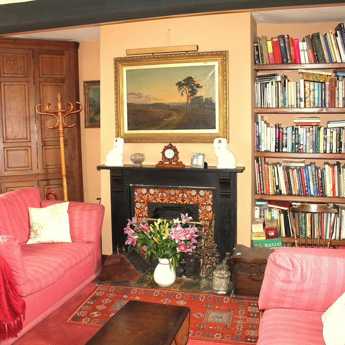 Kick off your shoes in our cosy lounge after a day exploring the orchards