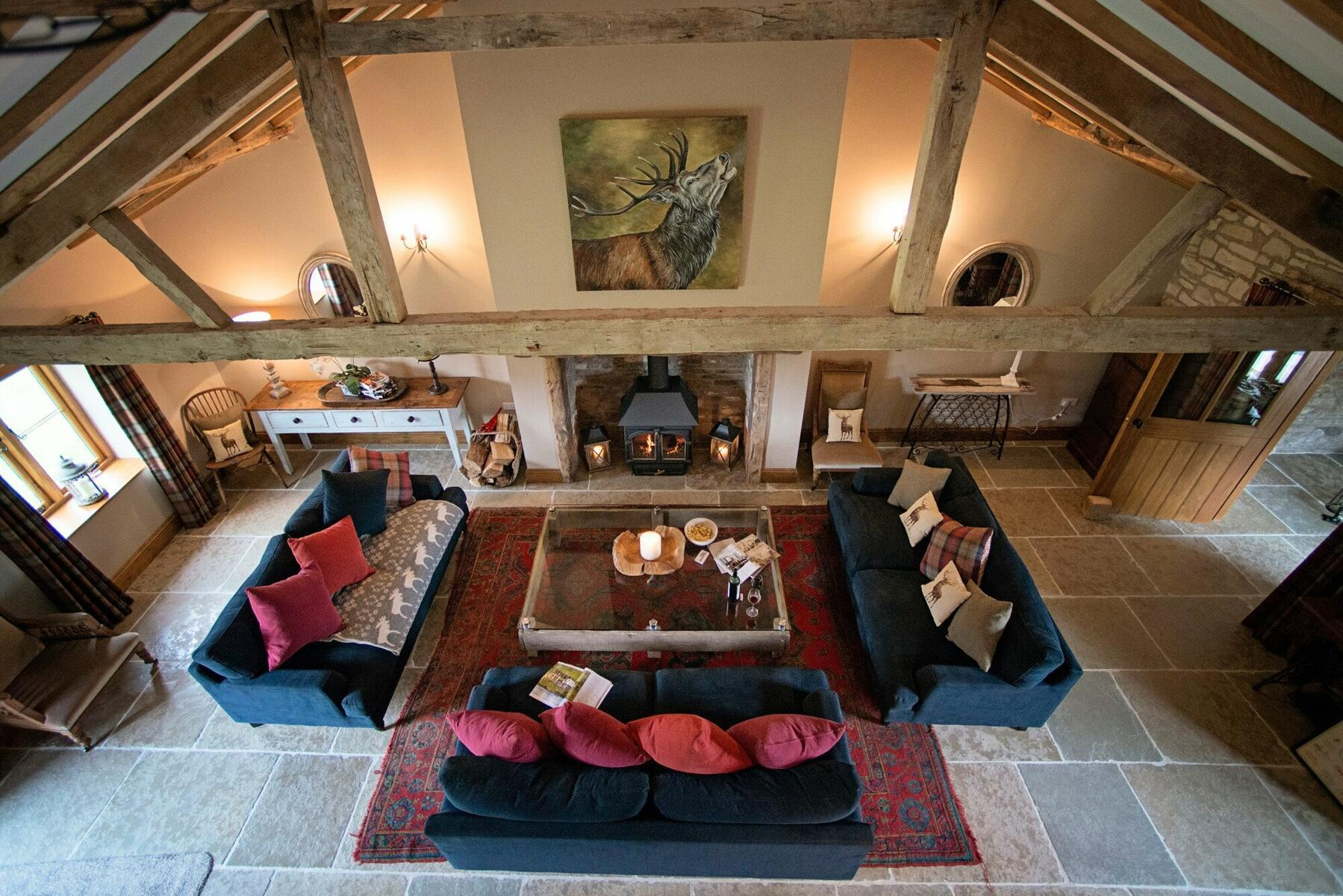 The Old Byre Winter Sitting Room
