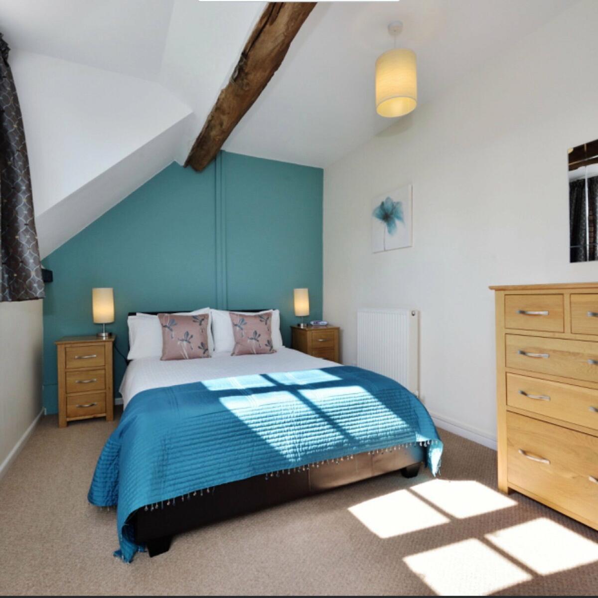 Founders double bedroom
