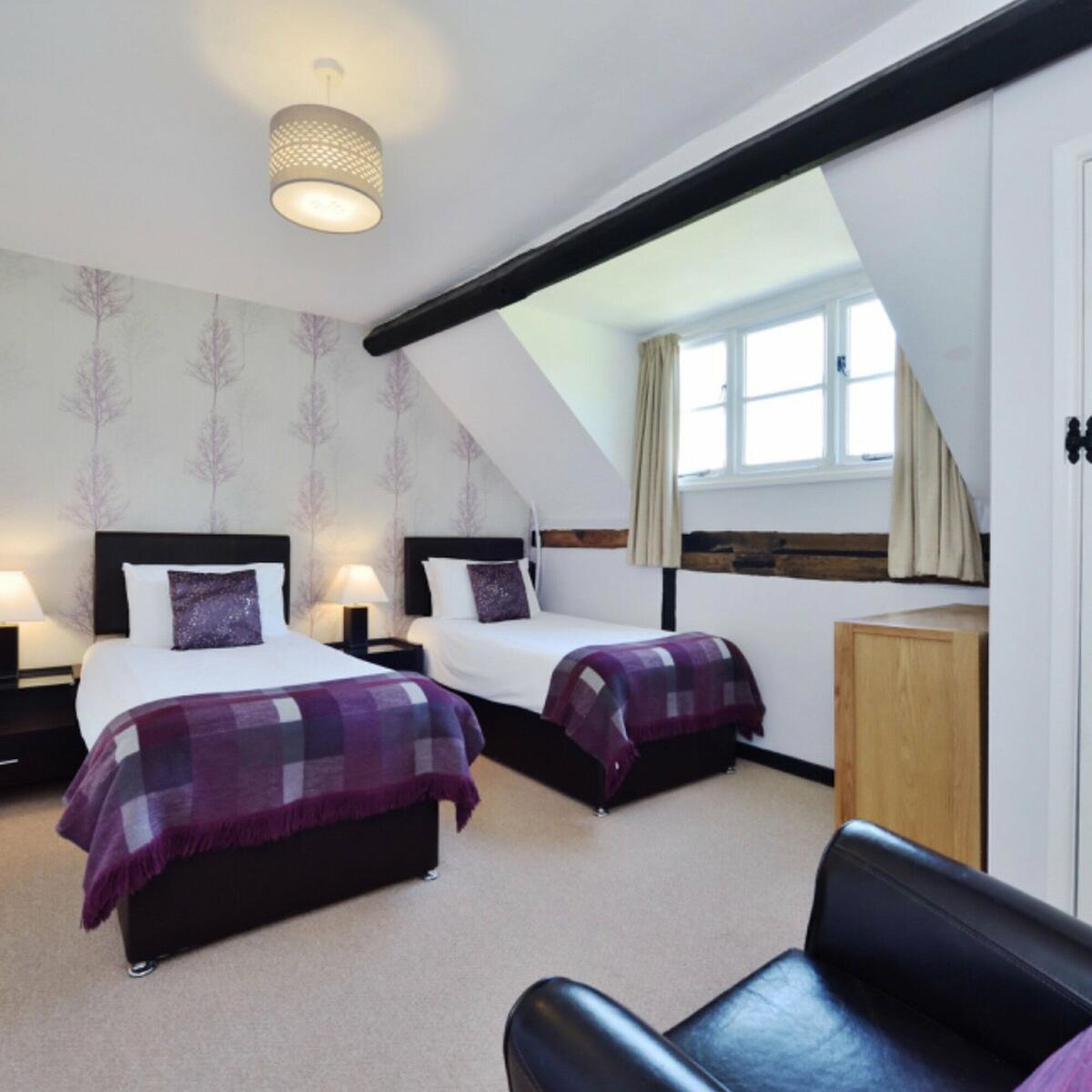 Founders twin bedroom