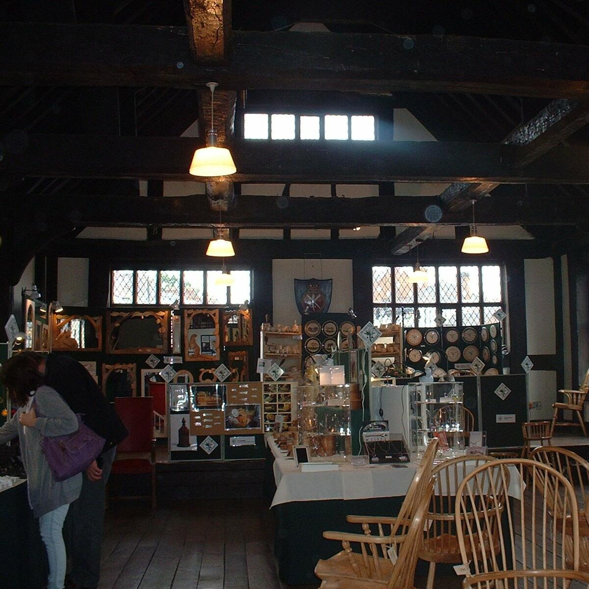 Craft exhibition and sale in the Market House