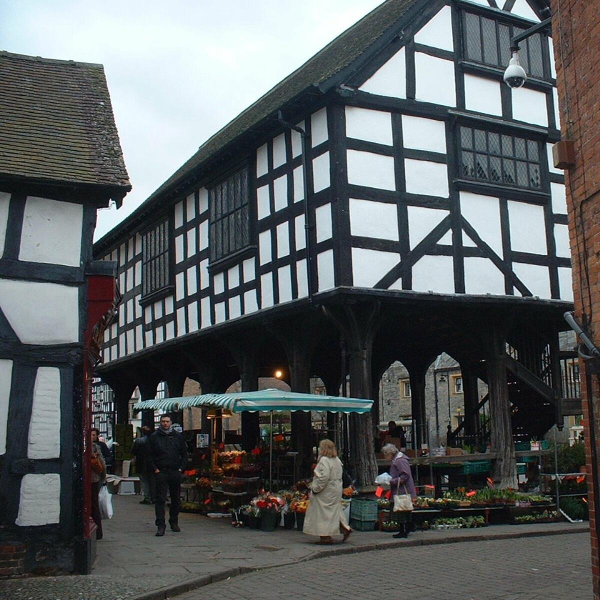 Market Day in Ledbury