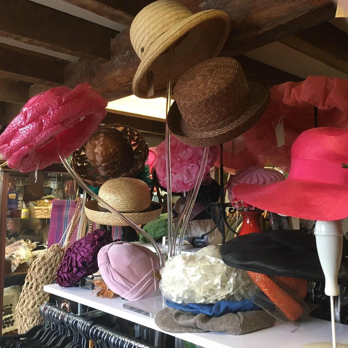 Vintage Clothes & Hats