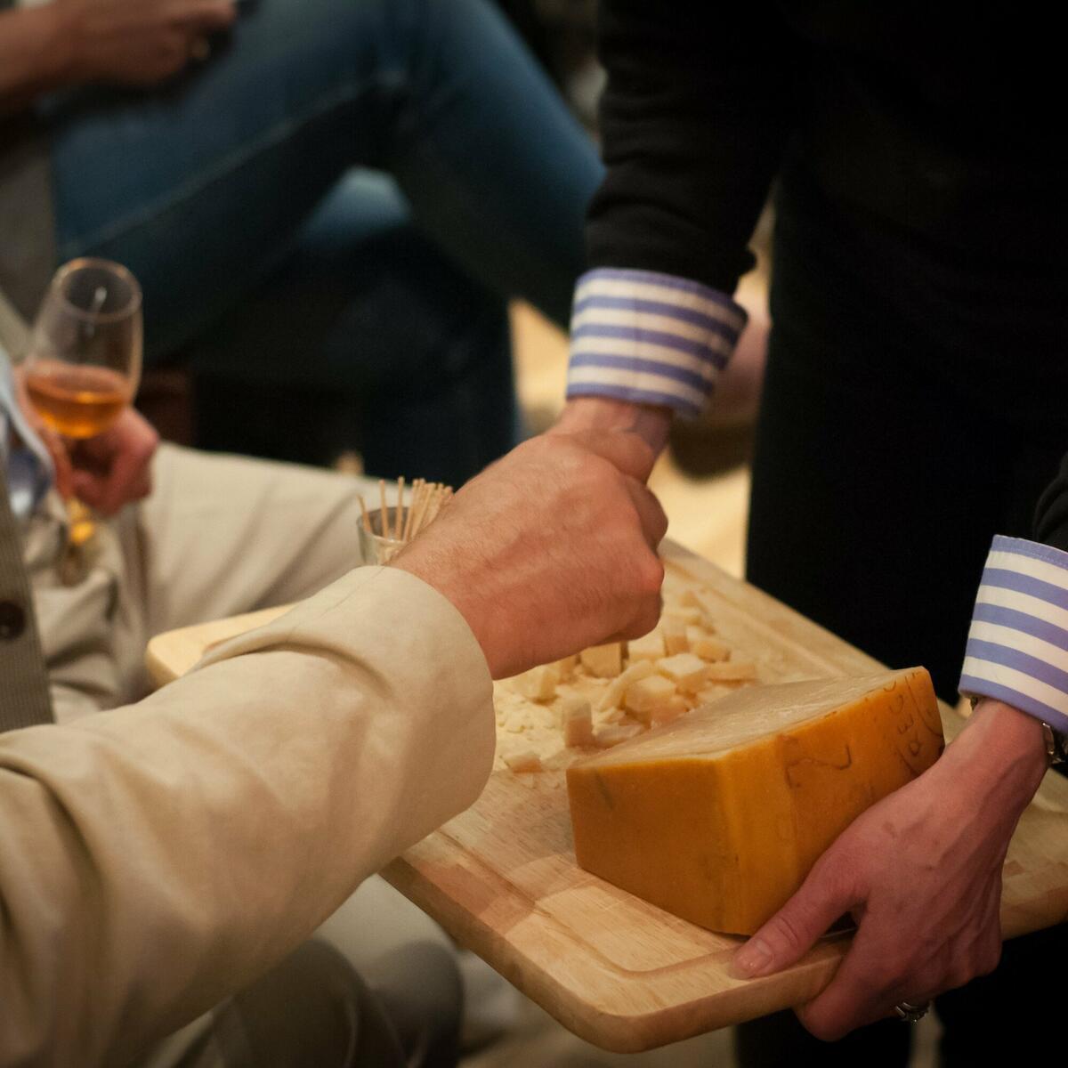 Cheese & wine tastings