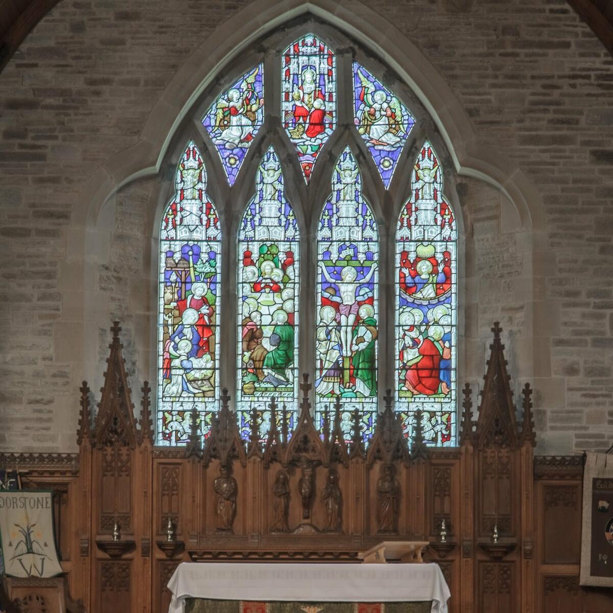 Clayton & Bell Memorial window
