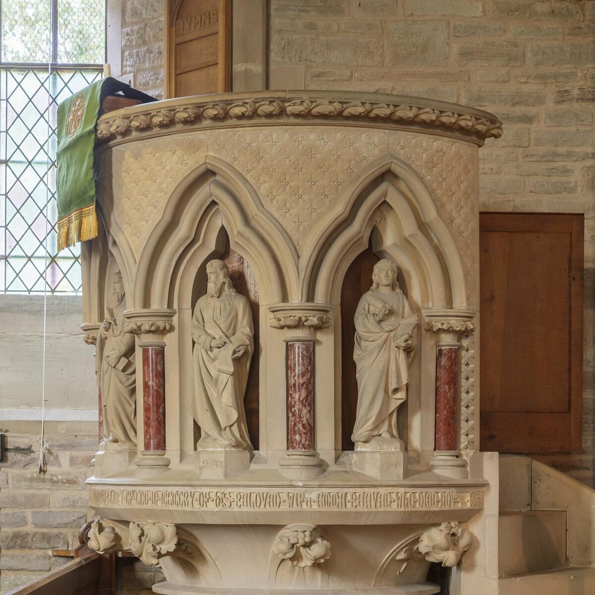 Pulpit 1865