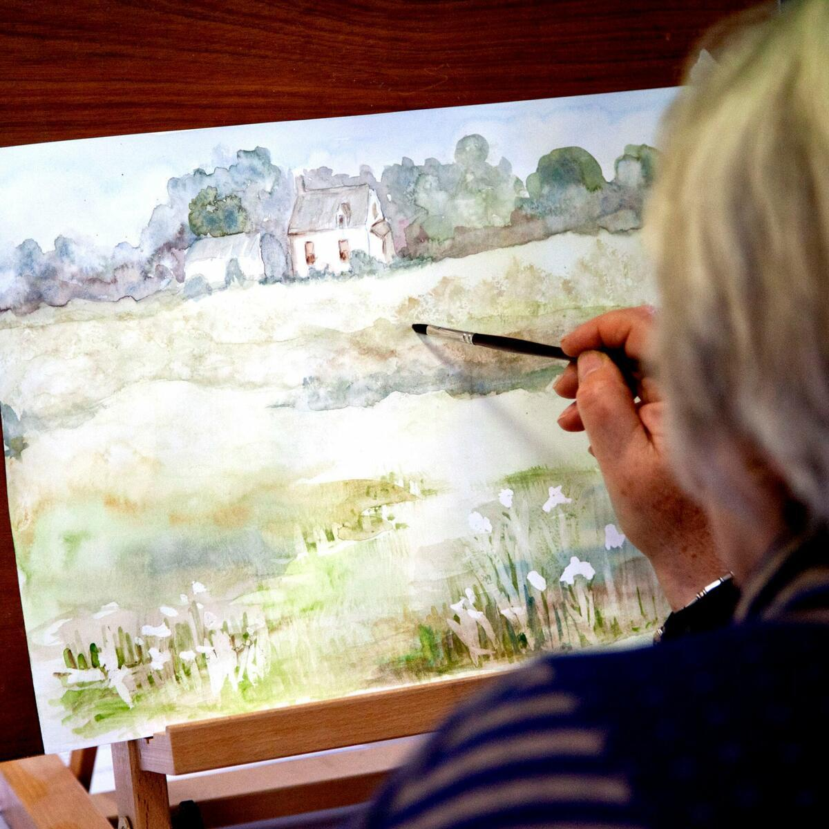 Painting Herefordshire