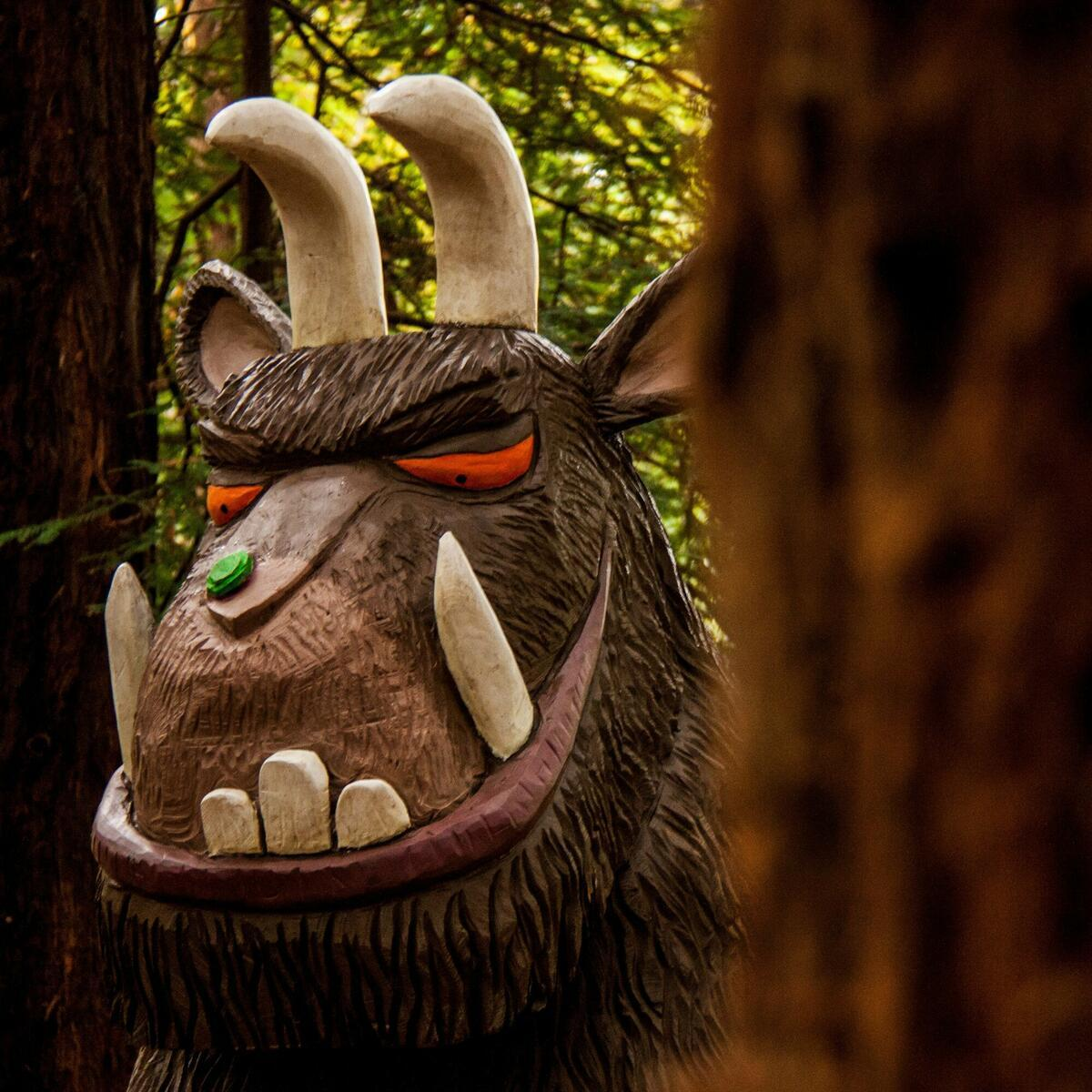 The Gruffalo, Queenswood (c) Natalie Jolley