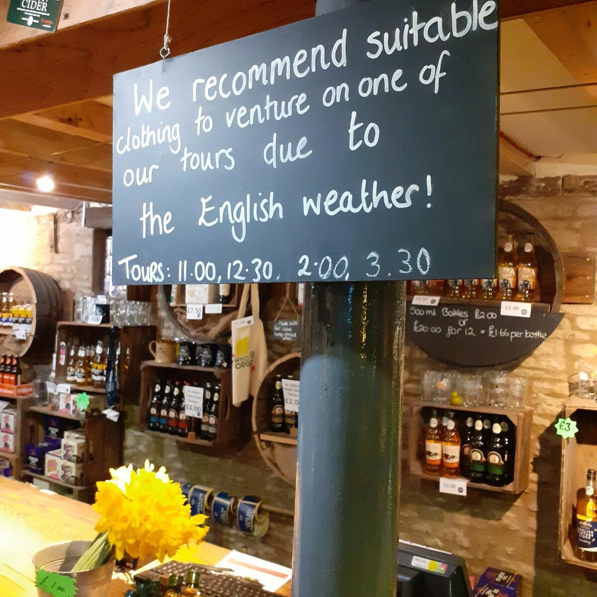 Fully Guided Tours at Westons Cider Mill