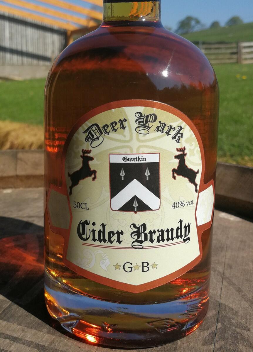 Our cider brandy