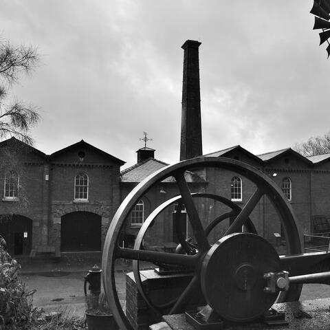 Alfred Watkin's Photograph of an old factory